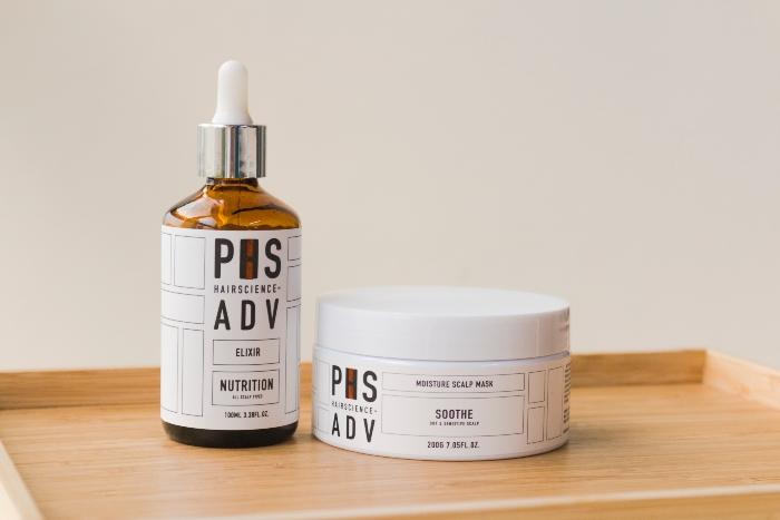 phs hairscience adv elixir and adv soothe mask edited