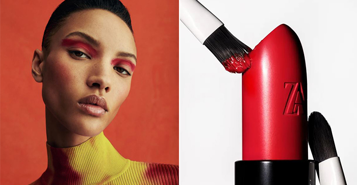 Zara announces the launch of a makeup line and its debut collection is HUGE