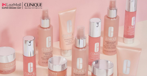 Clinique x Lazada Super Brand Day: buy 1 get 1 deals, free beauty treats and shipping!