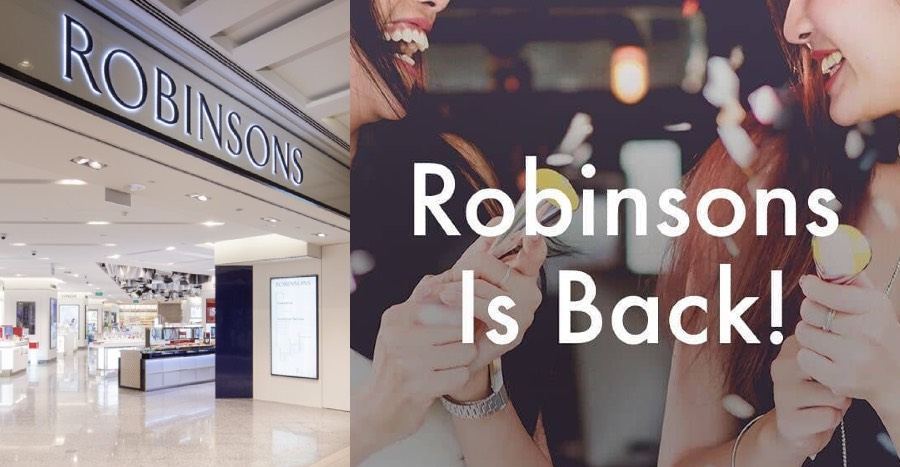 Robinsons is back as an online store and it's launching very soon!