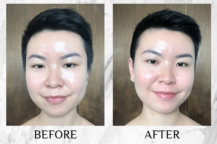 Vichy Mineral 89 Probiotic Fractions before after jade