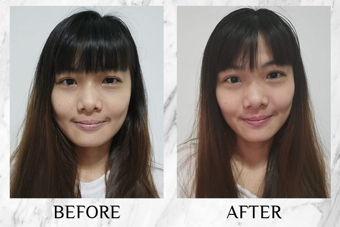 Vichy Mineral 89 Probiotic Fractions before after serene