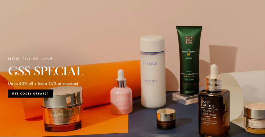 GSS Special: Take up to 40% off + an additional 15% off Benefit Cosmetics, La Mer and more at Viimart!