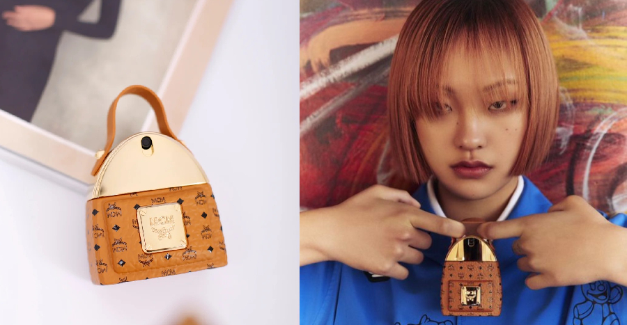 MCM launches its first-ever fragrance and it looks like a mini version of the brand's classic backpack