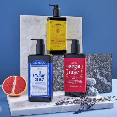 beauty products with vintage packaging spa esprit