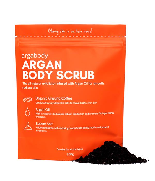 Argabody Argan Body Scrub