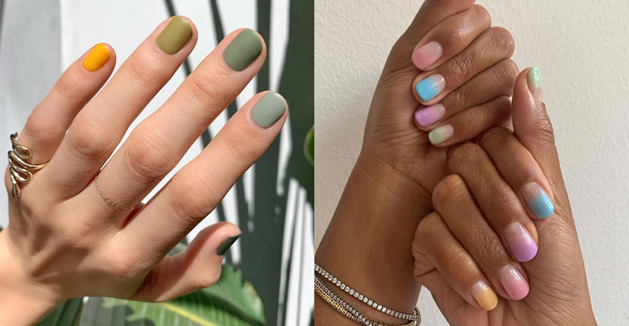 15 rainbow nails that will lead you to that pot of gold in 2021