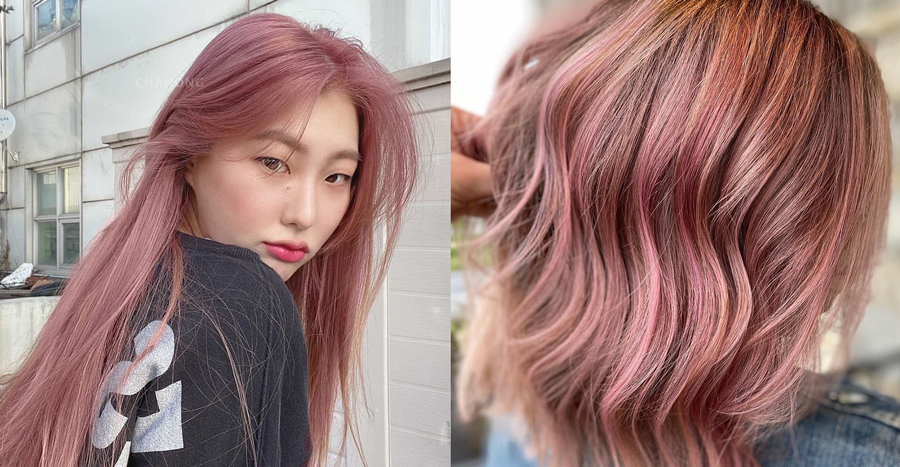 """""""Smokey pink hair"""" is making waves in Korea! Here's how you can take on the trend yourself"""
