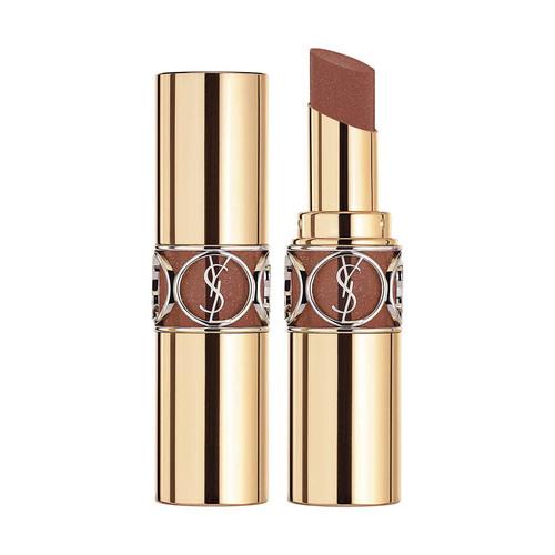 8. YSL Rouge Volupte Shine Lipstick in #121