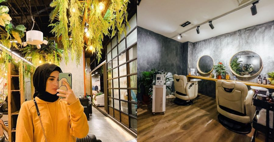 This hijab-friendly, ladies-only luxury beauty lounge is now open at Mandarin Gallery