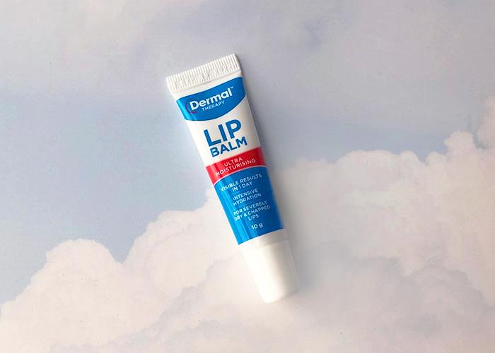 dermal therapy lip balm product shot 1
