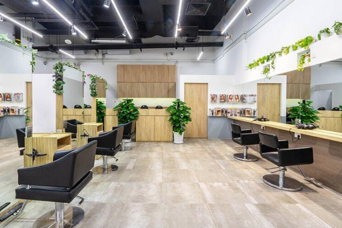 peekaboo hair colour korean hair trend de hair salon