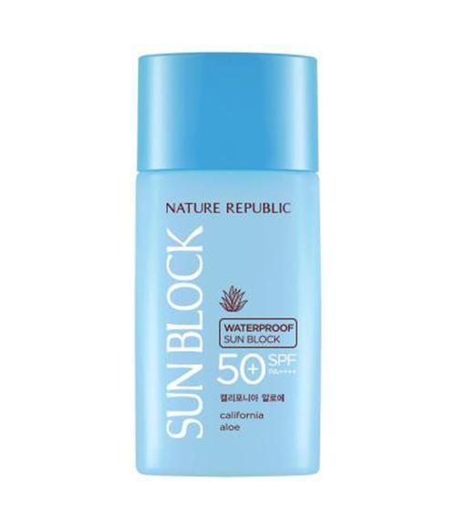 Nature Republic California Aloe Waterproof Sun Block SPF50+ PA++++