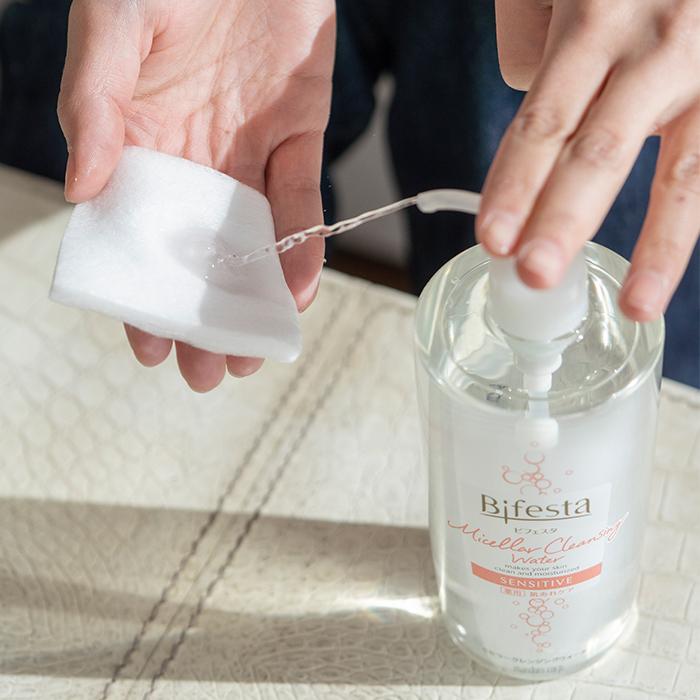 Bifesta Micellar Cleansing Water how to use