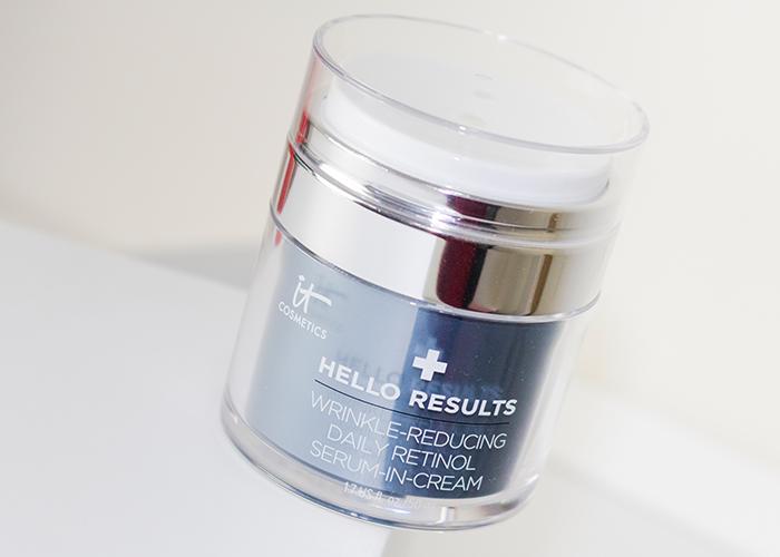 IT Cosmetics Hello Results Wrinkle-Reducing Daily Retinol Serum-in-Cream 1