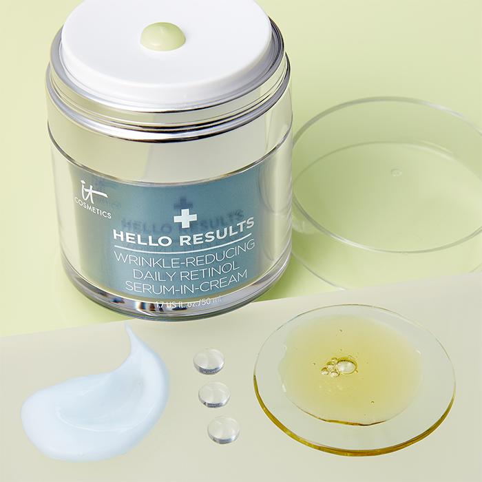 IT Cosmetics Hello Results Wrinkle-Reducing Daily Retinol Serum-in-Cream 5