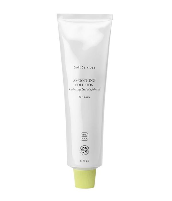 Soft Services Smoothing Solution Calming Gel Exfoliant