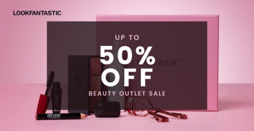 LookFantastic is having their Beauty Outlet Sale with up to 50% off!