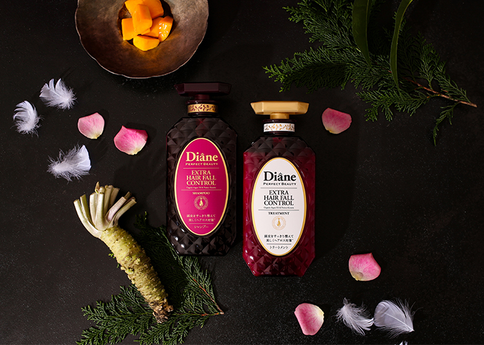 Diane Perfect Beauty Extra Hair Fall Control shampoo and treatment