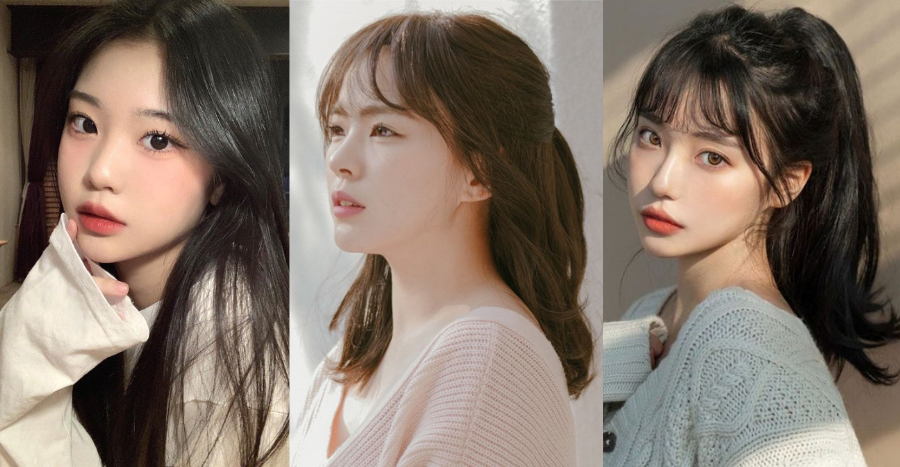 Take this 1-minute quiz to see what Korean hairstyle is perfect for your face shape!