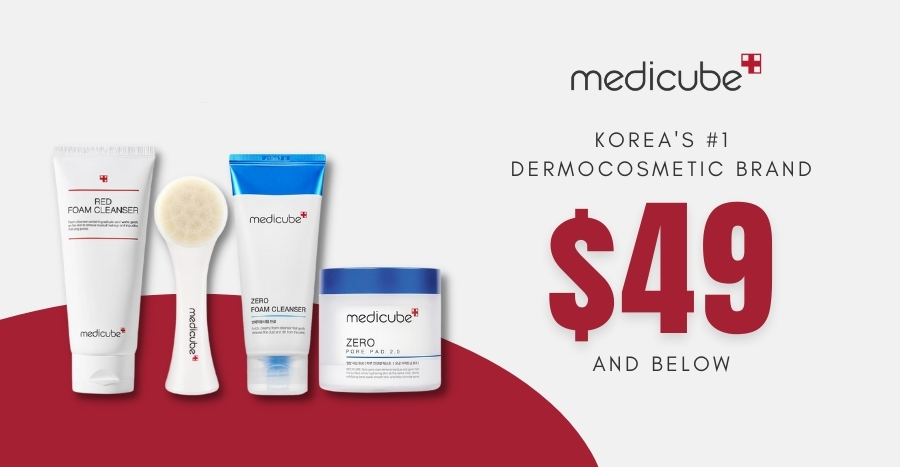 Medicube has a sale section where EVERYTHING is going at $49 and under – and prices going as low as $4