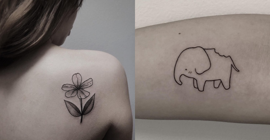 Thinking about inking yourself with a minimalist tattoo? Go to these 8 tattoo artists