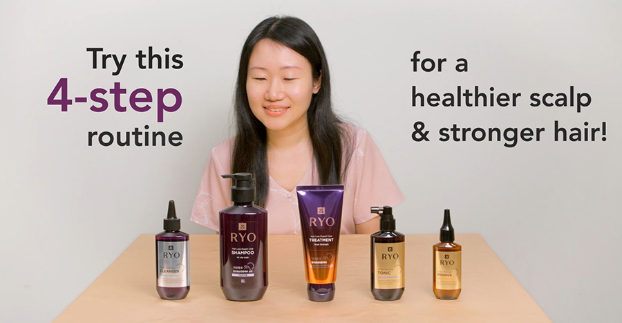 RYO Hair Loss Expert Care range: Reduce hair fall with this easy routine