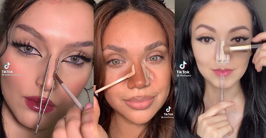 6 weird nose-contouring hacks on TikTok that offer great results