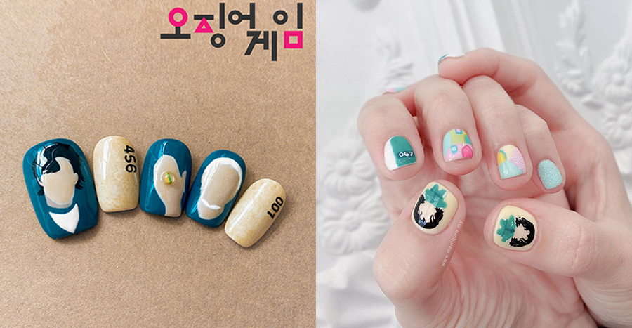 10 Squid Game-inspired press-on nails to die for